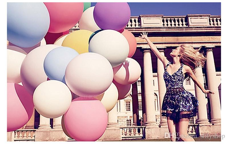 36 inches Colorful Big Ballons Valentine's Day Romantic Ballons Wedding Party Bar Decoration Photo Photography Children Gift High Quality