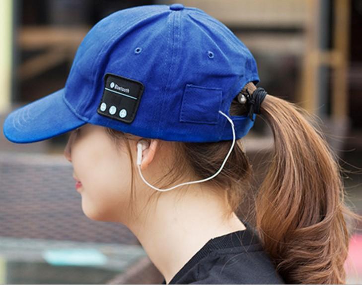 무선 blueteeth 뚜껑 10 미터 강한 신호 아크릴 헤드셋 모자 스테레오 blueteeth HD 음질 공장 가격