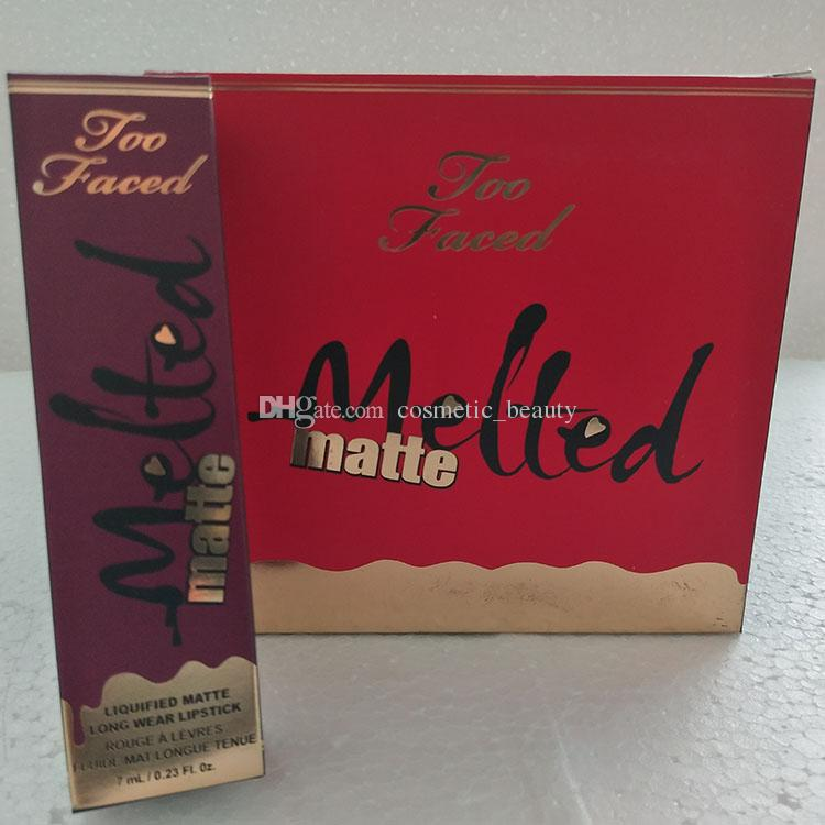 In stock! thenew free Epacket New Melted Matte Liquid Matte Lipstick Long-lasting Lip Gloss Long-Wear Matte Lipsticks