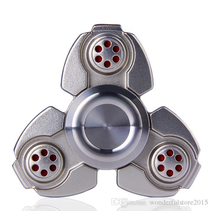 EDC CKF Fidget Spinner Handspinner Hand Spinner Finger Decompression Anxiety Metal Steel Ball Bearing Metal Zinc Alloy Gag Toys DHL free