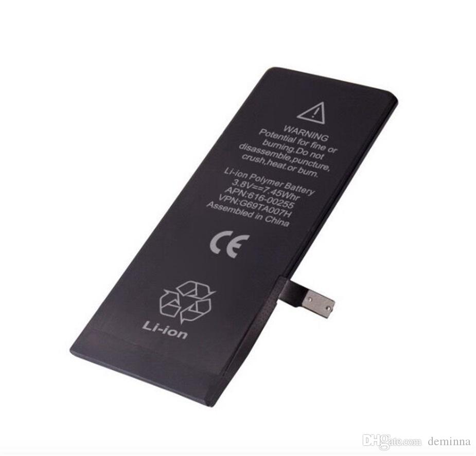 Batterie für Apple iPhone 4 4 ​​s 5 g 5 s 5 c 6 g 6 s 6 plus 6 s plus 7 g 7 plus Batterien Ersatz starke Flex 0 Zyklus