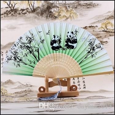 Wholesale Chinese Hand Held Fan Bamboo Silk Butterfly &Flower ...
