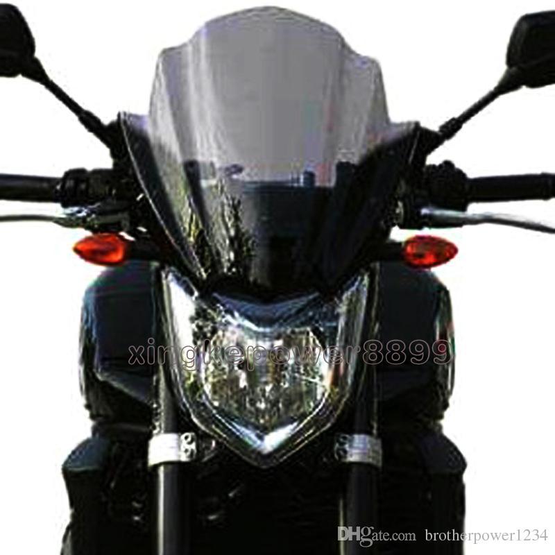 Motorcycle Street Bike Windshield WindScreen For 2006 2015 Suzuki GSR600 GSR400 Aftermarket Windscreens Windshields Motorcycles From