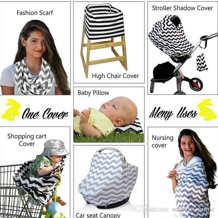 Baby INS Stroller Cover Sleep Pushchair Case Car Seat Canopy Shopping Cart Cover Pram Travel Bag Buggy Cover Breastfeed Nursing Covers