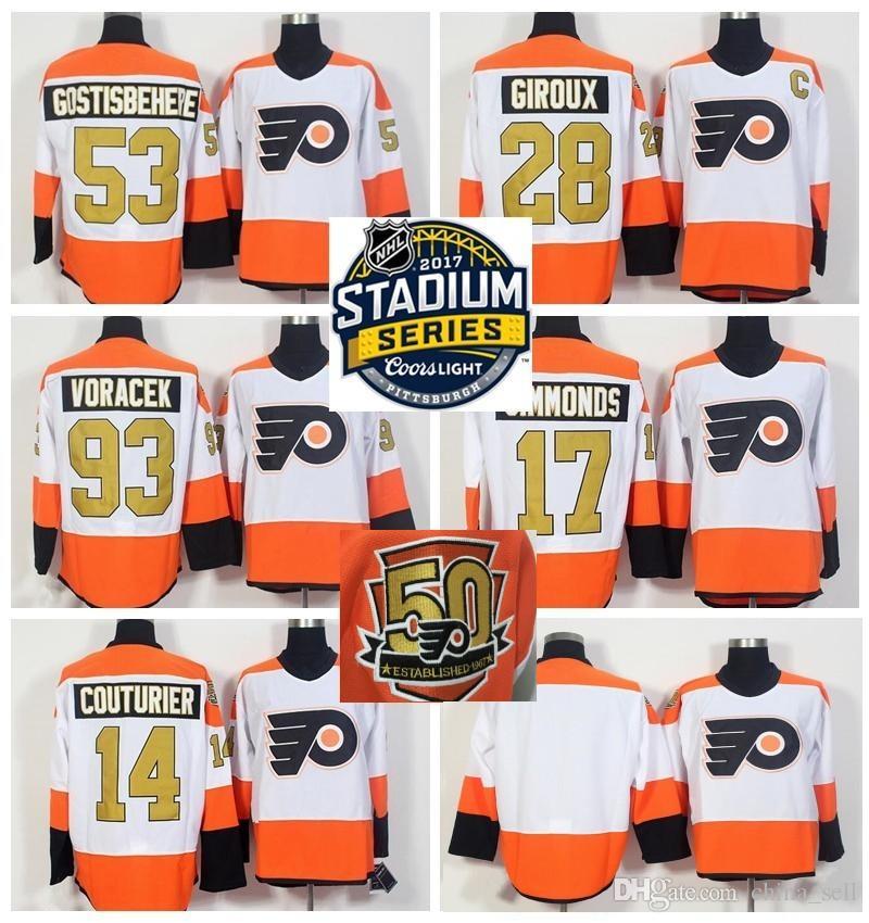 3964c95d680 ... discount philadelphia flyers orange old time hockey lace up jersey  hooded sweatshirt flyers nhl stadium series