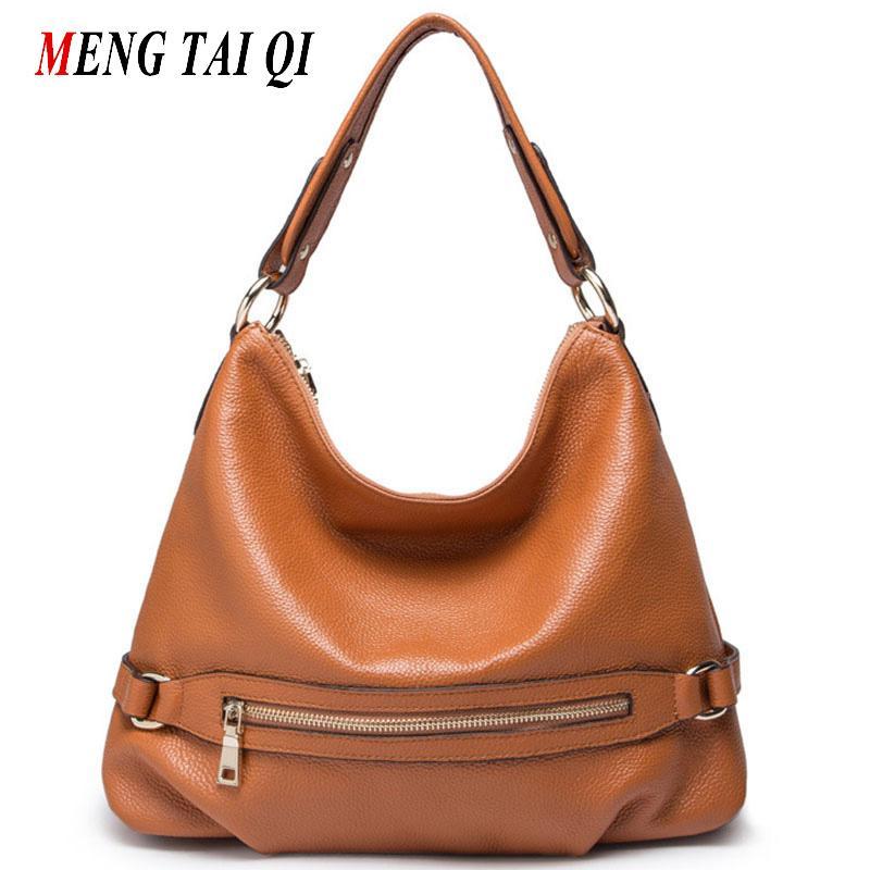 Wholesale Genuine Leather Bag Luxury Handbags Women Bags Designer Zipper  Women Shoulder Messenger Bags Ladies Real Leather Tote Fashion 4 Name Brand  Purses ... 894c9b7750689