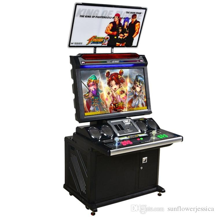 Hot Sale 32'' Lcd Game Machine English Version Street Fighting ...