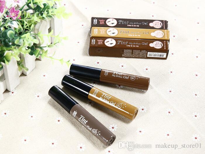 New Arrival Eyebrow Enhancers Etude House Tint My Brow Gel Dark Brow/Light Brown/Gray Peel Off Tint Cosmetics