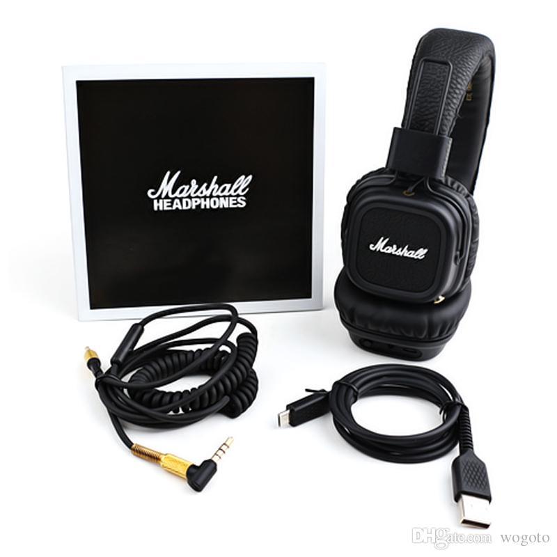 Marshall Major II 2.0 Bluetooth Wireless Headphones DJ Studio ... f19515c6c8f31