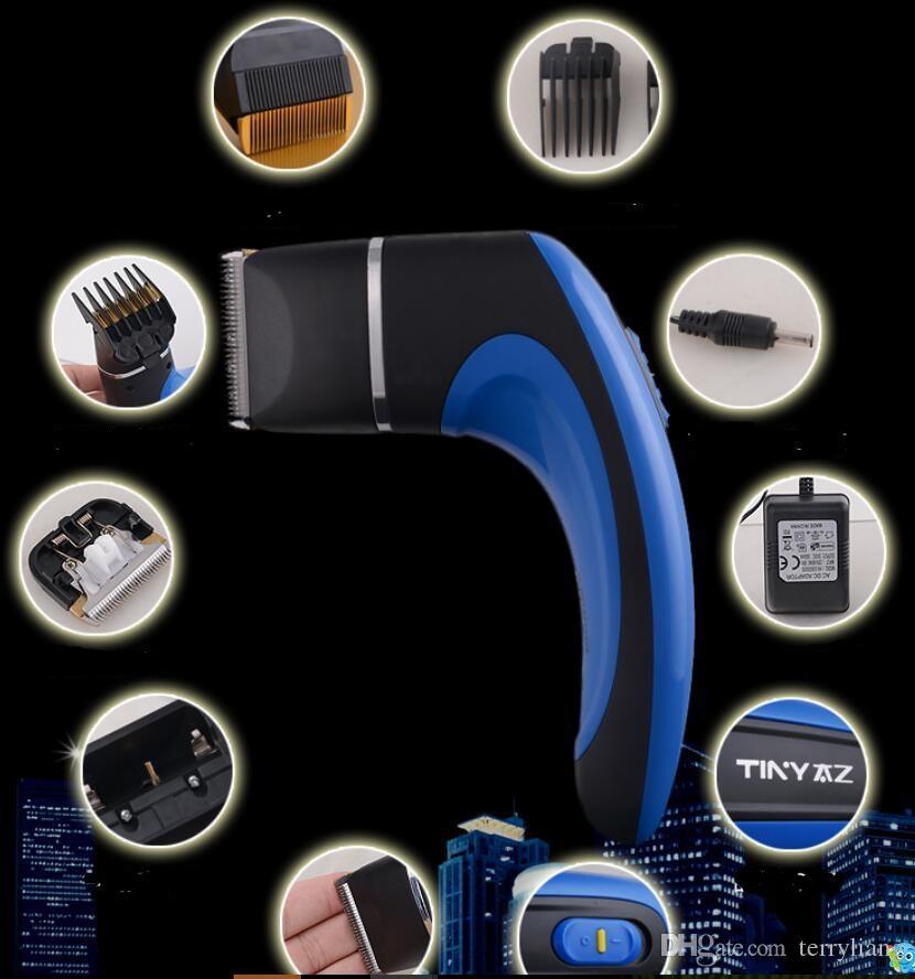 La più recente Professional Electric FAI DA TE Clipper capelli Tagliare facilmente i capelli Styling Adulto Self Capelli Trimmer Cutter Barber Salon Trim Trim