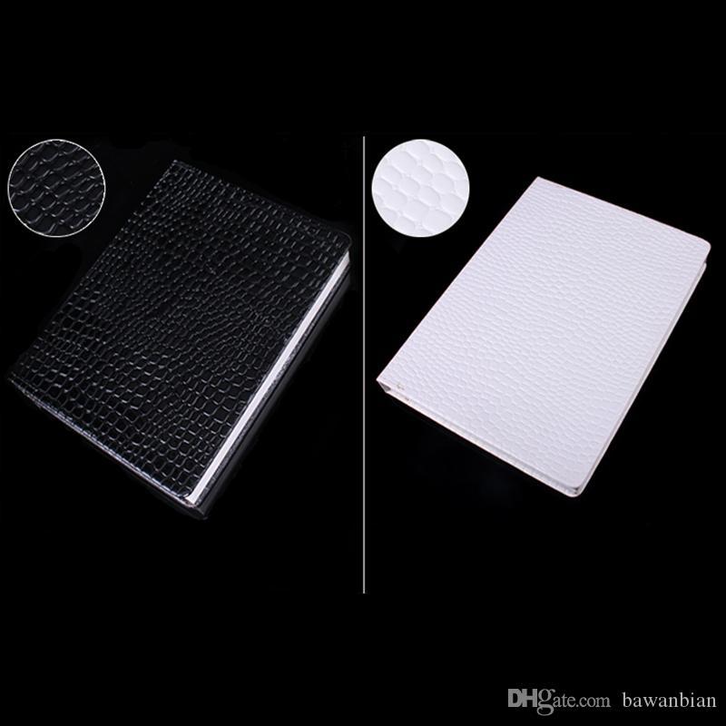 Profesyonel Model 216 Renkler Tırnak Jel Lehçe Renk Ekran Kartı Kitap Adanmış Kart Grafiği Nail Art Araçları ile 226 Yanlış Tırnak