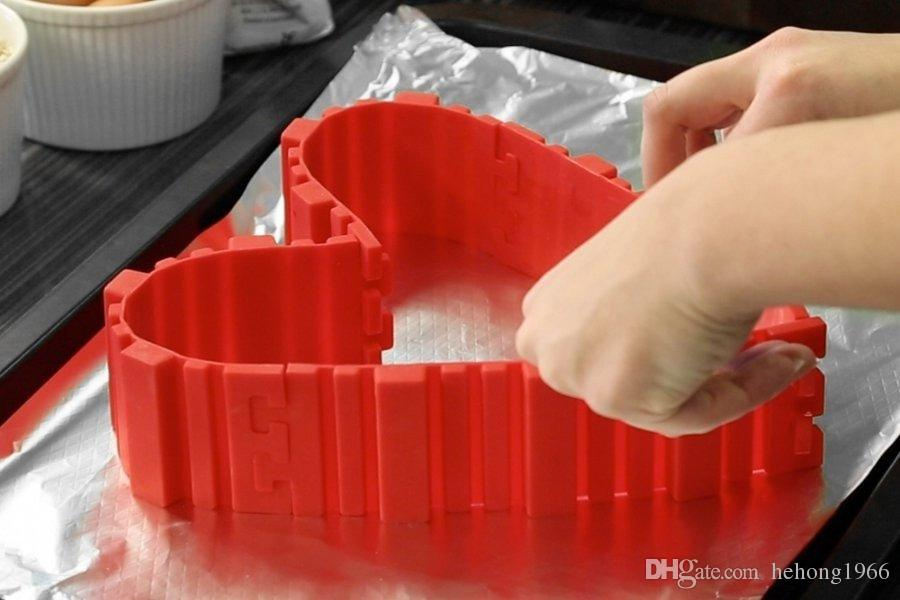 Bake Snake Silicone Cake Baking Mold Multi Function Magic Bakeware Pastry Tools Family Necessity Tool Hot Sell 9 3gw R