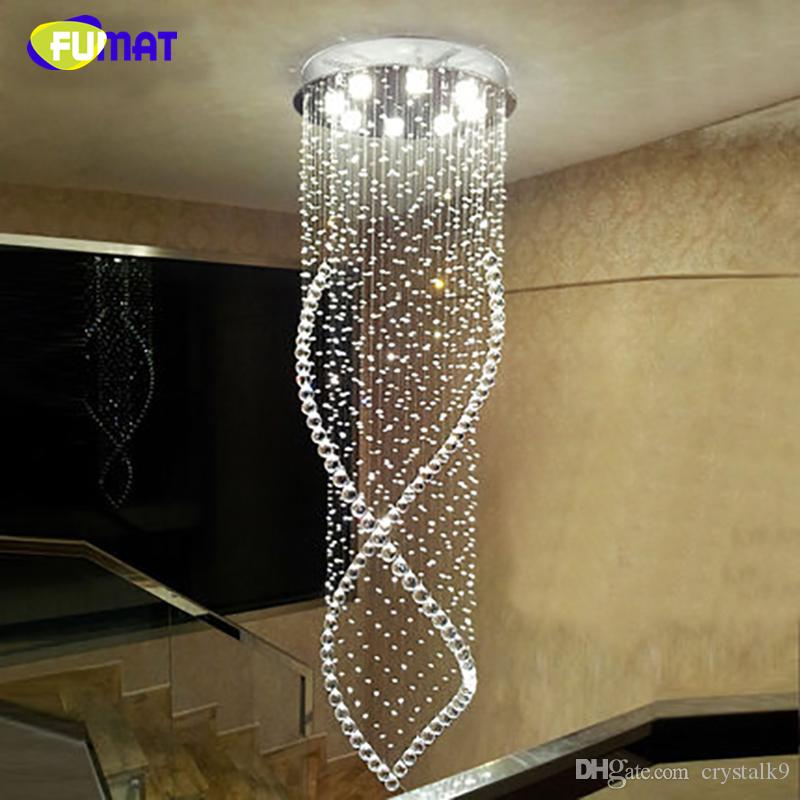 Artistic Stairs Canada: K9 Crystal Stair Chandeliers Modern Fashion Artistic
