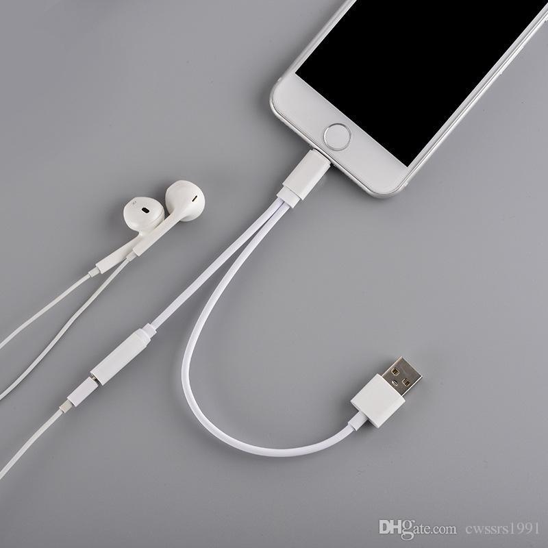 2019 for iphone 7 earphone jack adapter lightning to 3 5. Black Bedroom Furniture Sets. Home Design Ideas