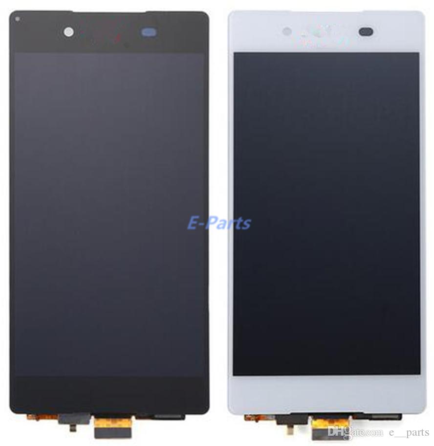 100% Orijinal Sony Xperia Için Z4 Z3 + z3 artı LCD E6553 E6533 E5663 Hızlı DHL Tarafından LCD Ekran Dokunmatik Ekran Digitizer Meclisi değiştirme