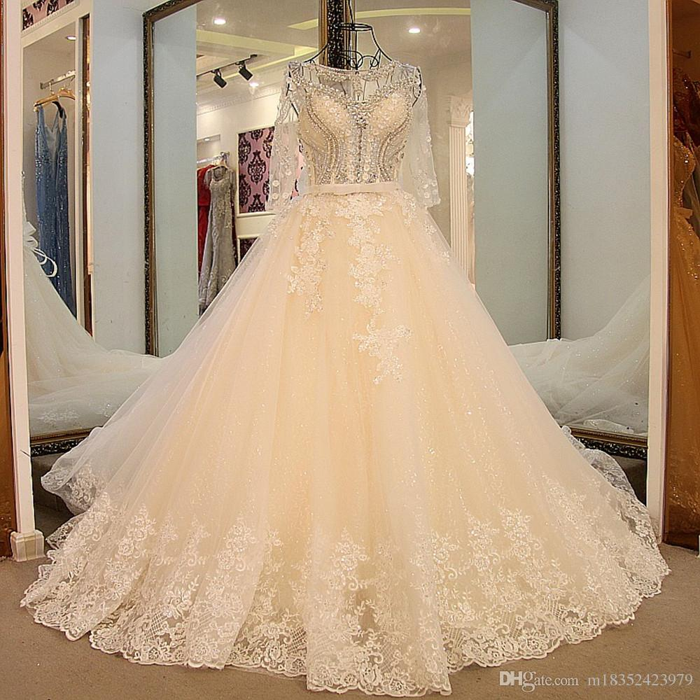 luxury beautiful castle wedding dresses maternity handmade