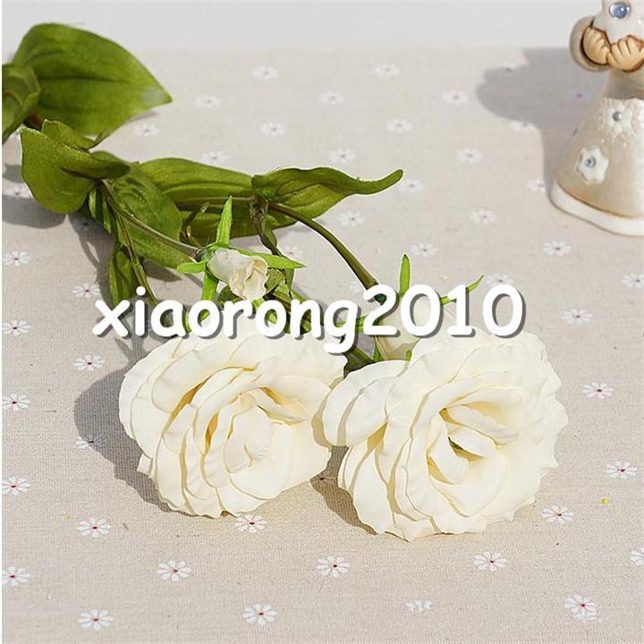 Sahte Platycodon Grandiflorum Çiçekler 68 cm / 26.77
