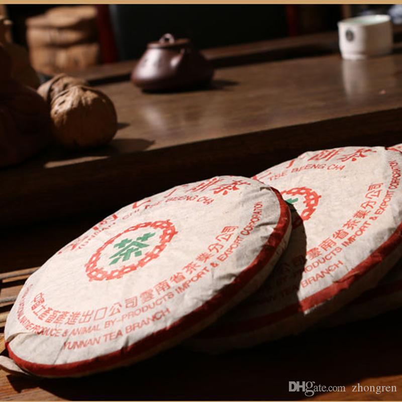 2003 feuille de thé Puer, 357 grammes de vieux thé Puer, rouge foncé, miel sucré, vieux thé Puer, livraison gratuite