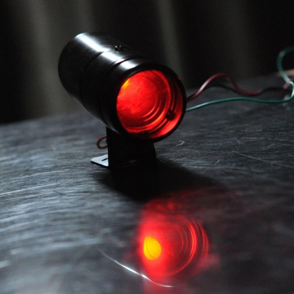 Adjustable Tachometer Alarm Shift Light 1k 11k Rpm Tacho Gauge Strobe Aluminum Blue Red Led Black Surface C406 Emergency Vehicle