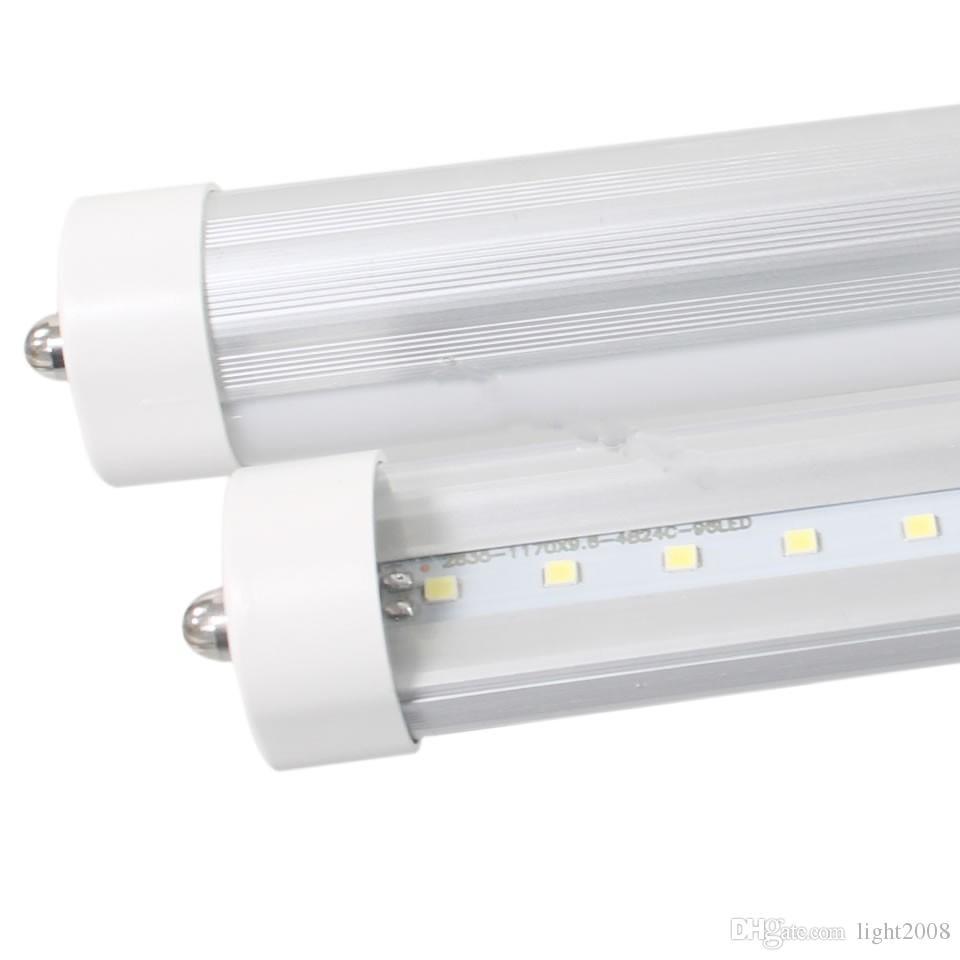 4 ft / 1.2 m ile sıcak kek gibi satmak 20 w aydınlatma ampuller 2400 LM floresan lamba t8 fa8 led lamba 85 ~ 265 v