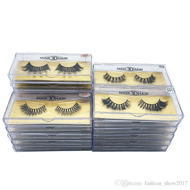New Style Natural Long Soft False Eyelashes Extension Handmade Beauty Lashes Makeup Mink hair eyelash extension for beautiful woman