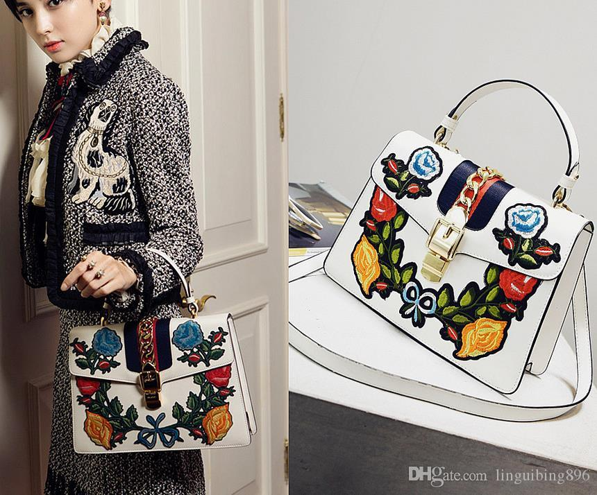 4a60a924ea National Wind Hot Sale Fashion Design Women Embroidery Flowers Bags High  Quality Handbag Shoulder Bag Chain Messenger Bag Messenger Bags Laptop Bags  From ...
