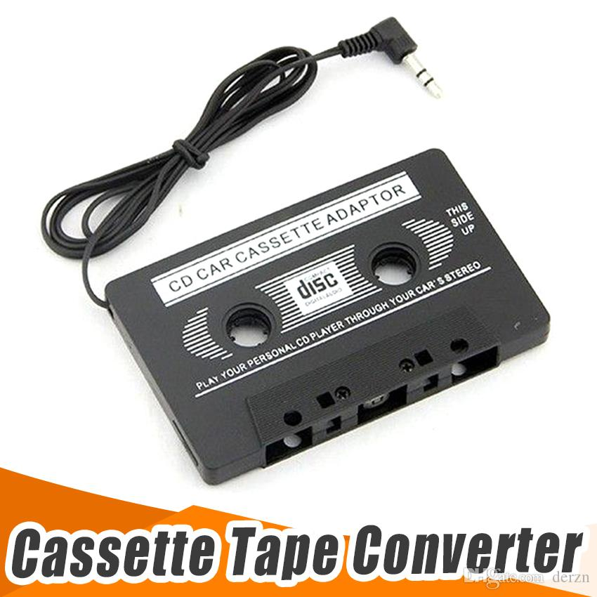 new audio car cassette tape adapter converter 3 5 mm for iphone ipod rh dhgate com