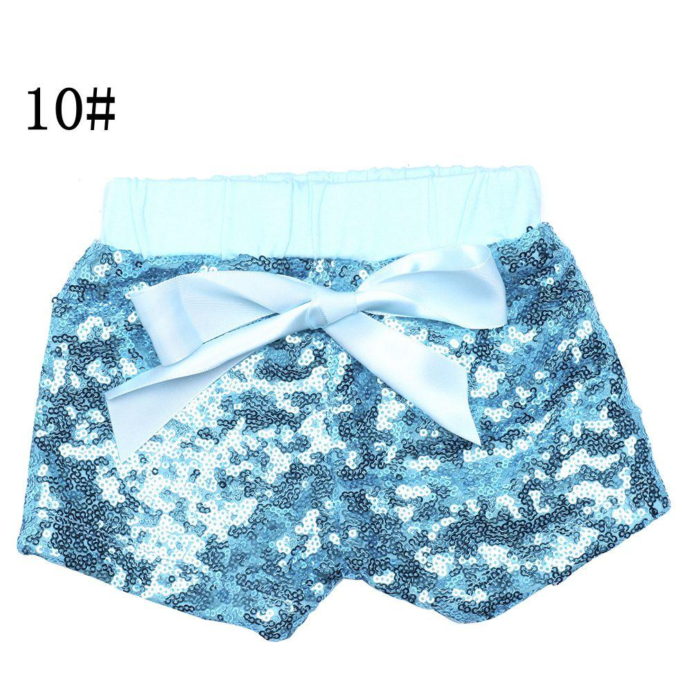 Baby Sequins Shorts Pants Casual Pants Fashion Infant Glitter Bling Dance hot pants Boutique Bow Princess Shorts Kids Clothes 17-33