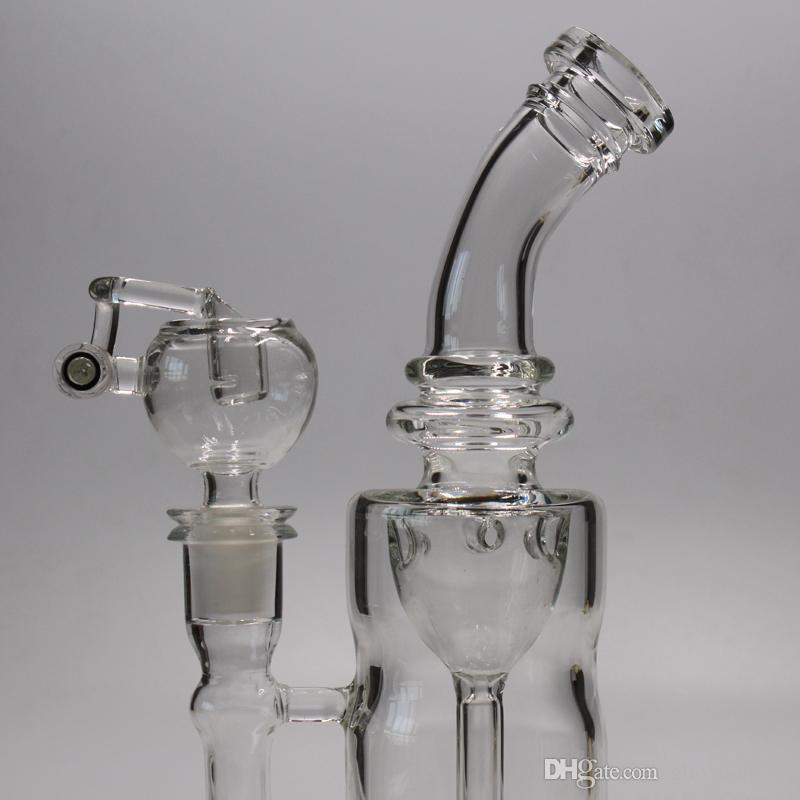 ресайклер стекла бонг водопровод нефтяная вышка толщиной 5 мм стекло барботер женский сустав 14.5 совместное бесплатная доставка