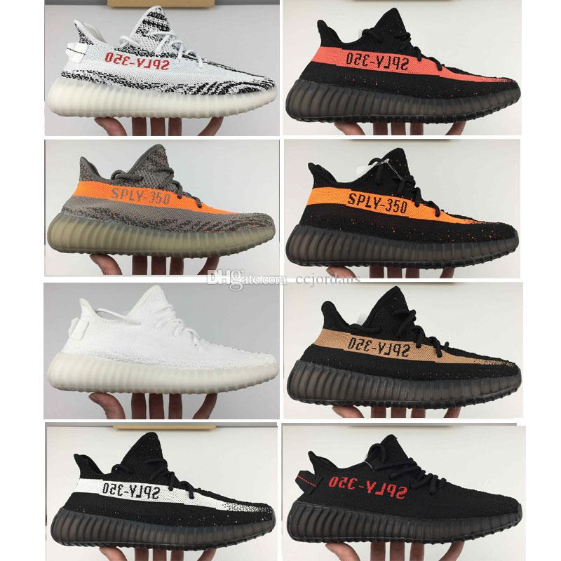 Kanye West Sply Boost 350 V2 zebra Black White Bred Zebra New SPLY-350 Beluga Men Women Running shoes sport Sneakers Size 36-45 free shipping buy low cost online discount 100% original best sale cheap price largest supplier cheap price gwaXa8k2So