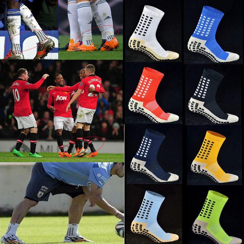 1370d33a6457 2019 Hot Sale Tocksox Soccer Socks Anti Slip Trusox Mid Calf Cotton Football  Socks Calcetin De Futbol Meias Calcetines Football Socks From Welikes