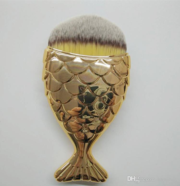 Hot nouvelle beauté maquillage pinceaux poignée de sirène magicien magie baguette brosses DHL