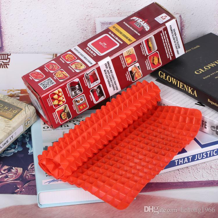 PYRAMID PAN Silicone Pad For Oven Microwave Barbecue Pads Cook Food Light And Crispy Goods In Stock 8 5hk