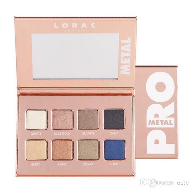 2017 Lorac Pro Metal in Rose Gold Quartz 8 Shades Eye Shadow Palette New Palette Limited Edition Eyeshadow