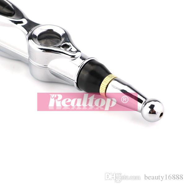 Energy acupuncture Pain Relief pen meridian acupuncture point pen muscle stimulate massage & relax pen No Cream &battery