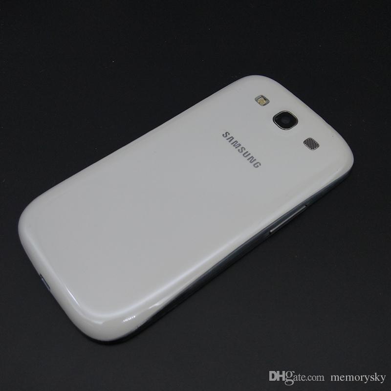 الأصلي سامسونج i9300 غالاكسي S3 GSM 3G رباعية النواة رام 1GB روم 16GB 4.8 بوصة 8MP مقفلة الهاتف مجدد