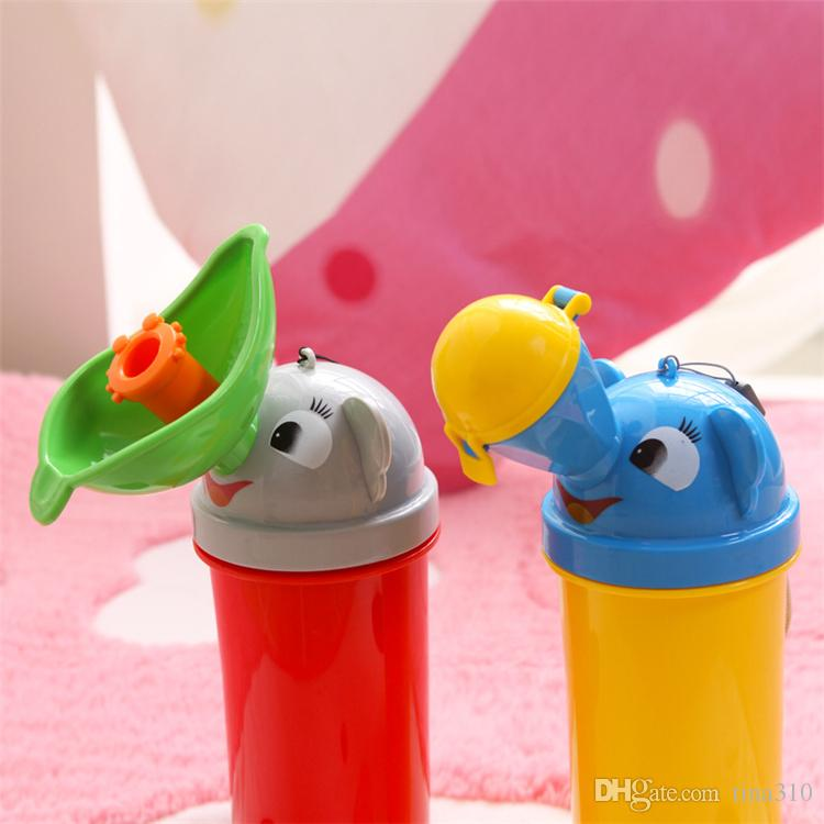 New baby Toilet Travel Pee Potty Training Urinal Portable Kids Potty Travel Stretch Toilet Potty Camping B0914
