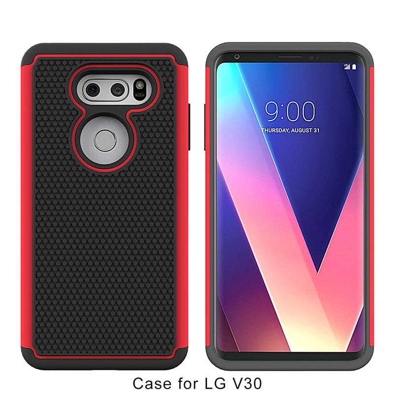 wholesale dealer af5bb a872e For iphone x iphone 8 plus For LG V30 Hybrid Defender Armor Case For ZTE  Blade Z Max Z982 Metropcs Cover Football D