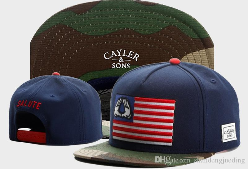 CAYLER SONS New Fashion Adjustable baseball cap CAYLER & SONS snapbacks hip-hop Hats trends flat-brimmed hat Sun Caps
