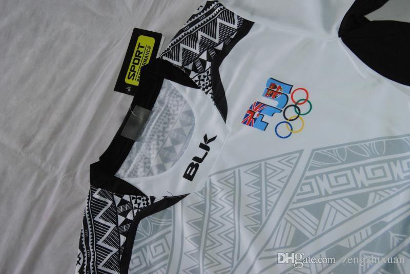Thai quality New Zealand 2017 Jerseys New Fiji Rugby Shirt 2016- Fiji 15's Jersey Fiji Rugby Jersey 2017 Super Rugby S-XXXL