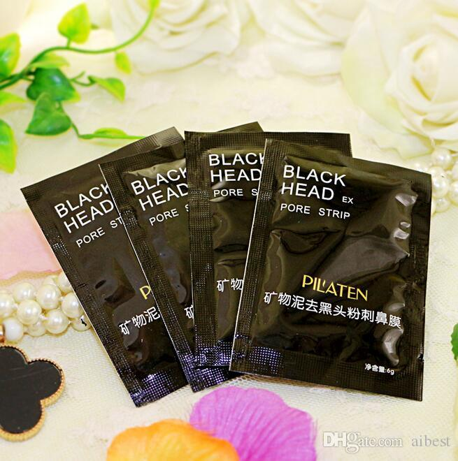 100% Original PILATEN Facial Minerals Conk Nose Blackhead Remover Mask Pore Cleanser Nose Black Head EX Pore Strip Acne Treatment mask DHL
