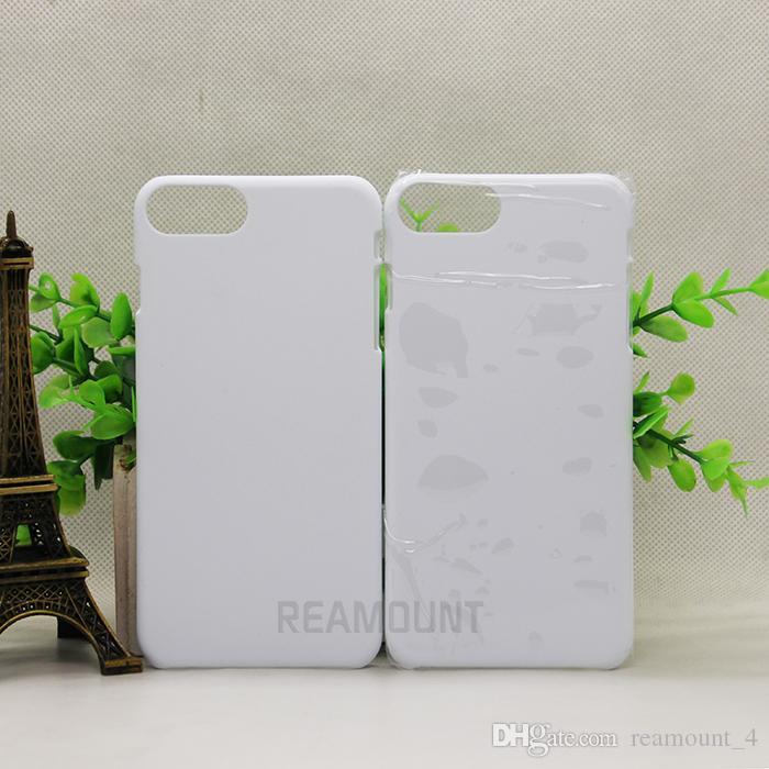 Caja del teléfono al por mayor para iPhone 6 6 Plus 3D cubierta de la caja de la sublimación en blanco para el iPhone 5 5C Nueva moda en blanco Shell del teléfono duro