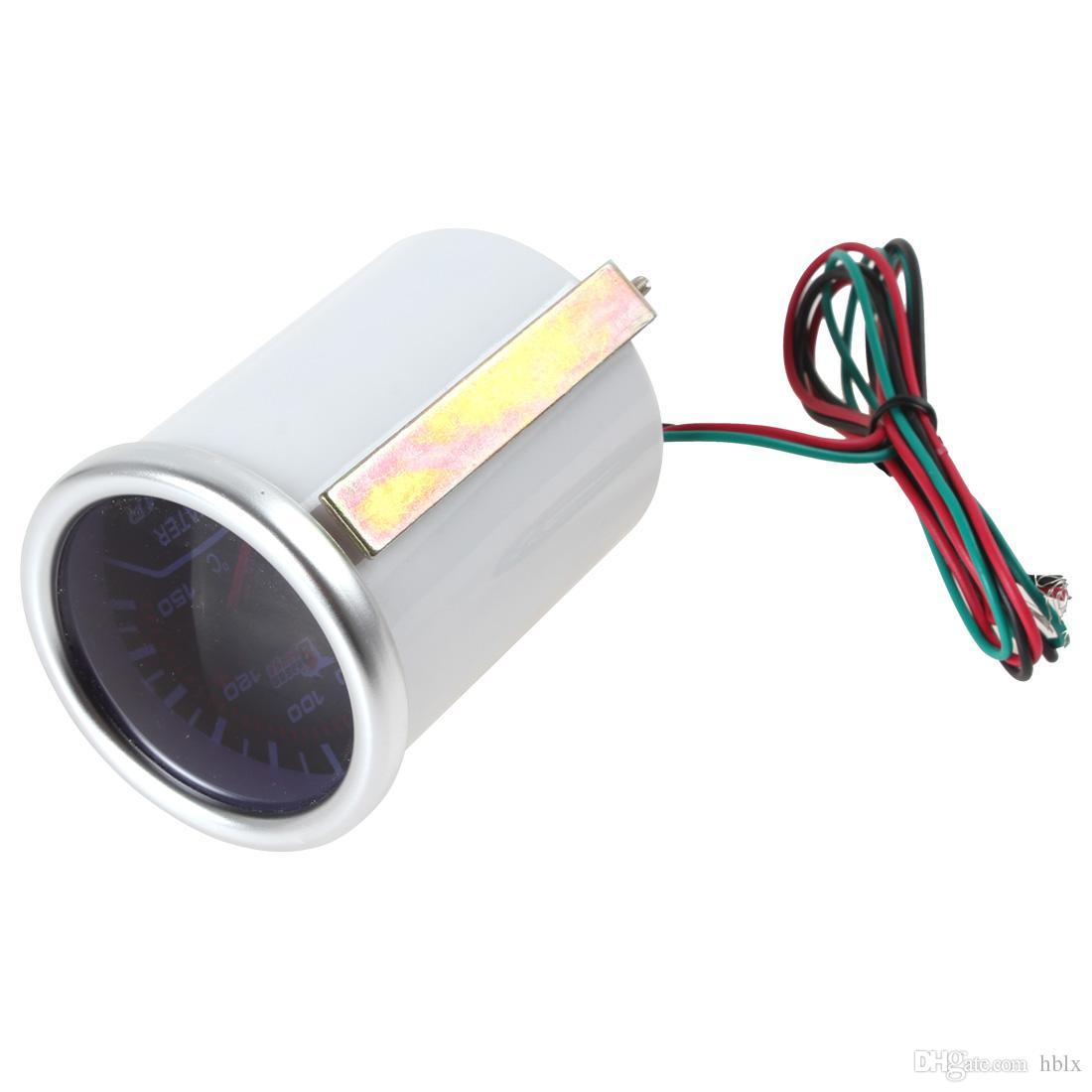 2 Inch 52mm Car Universal Smoke Len LED Water Temperature Gauge Meter CEC_503