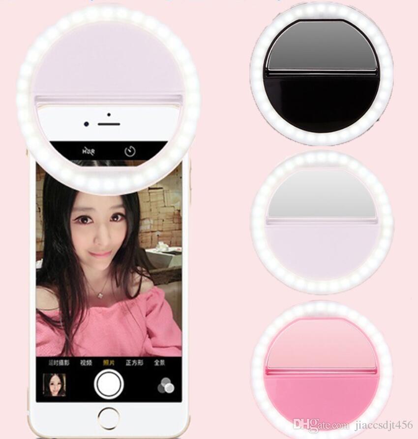 LED Lighting for Girl Makeup Lights Night Spotlight IPhone Samsung ...