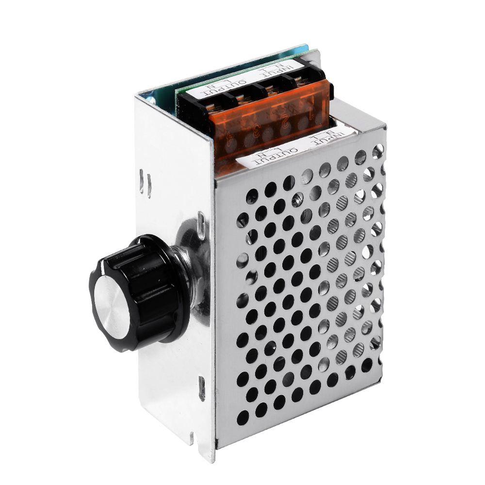 Regolatore di tensione del motore elettrico Dimmer Regolatore di tensione 4000W AC 220 V CA TE474