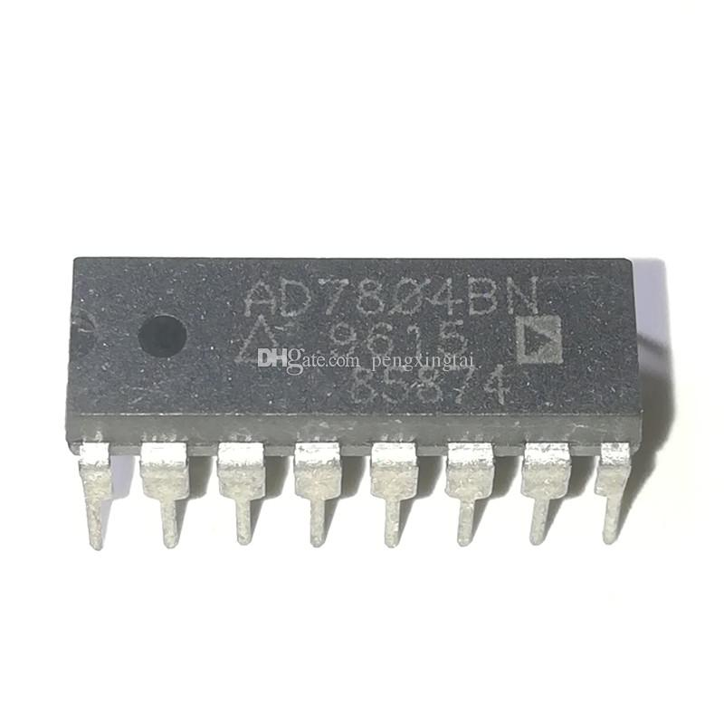 AD7804BN   AD7804B , SERIAL INPUT LOADING, 1 5 us SETTLING TIME, 10-BIT  DAC, dual in-line 16 pin DIP plastic package IC / AD7804BNZ   PDIP16