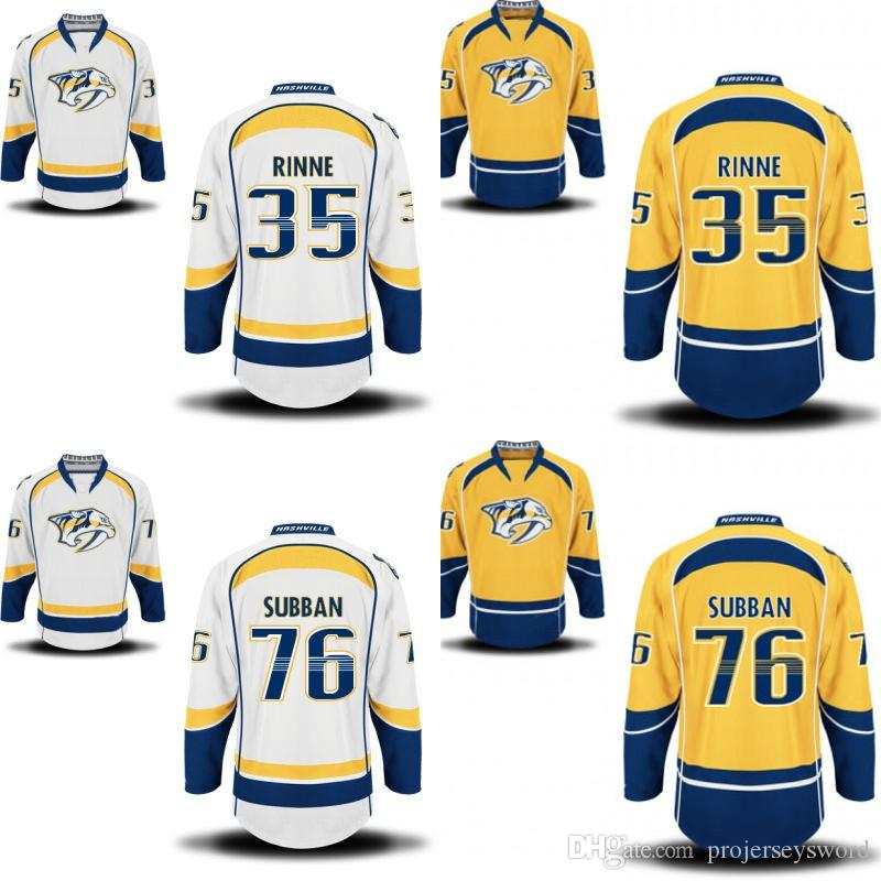 official photos 58b93 58108 Youth Nashville Predators Jersey 9 Filip Forsberg 12 Mike Fisher 35 Pekka  Rinne 59 Roman Josi 76 P.K. Subban Custom Hockey Jerseys