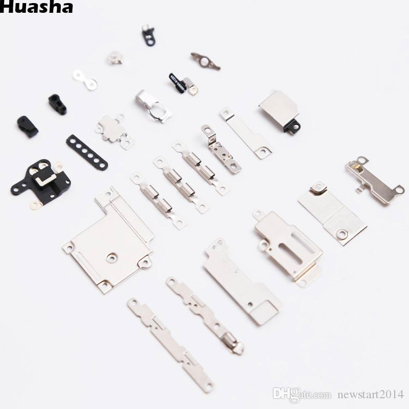 Free Shipping 24pcs In 1 Set Excellent Inner Small Parts Metal Fastening  Brackets For iPhone 6 4 7
