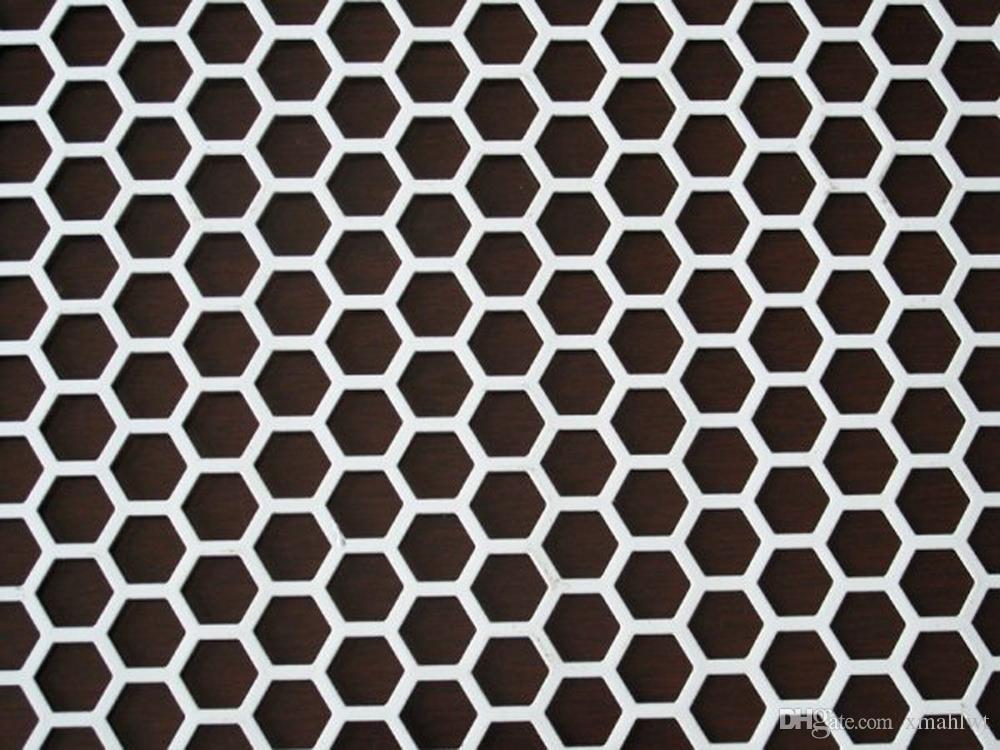 2018 Galvanized Steel Wire Plain Weave Punching Preformed Wire Mesh ...