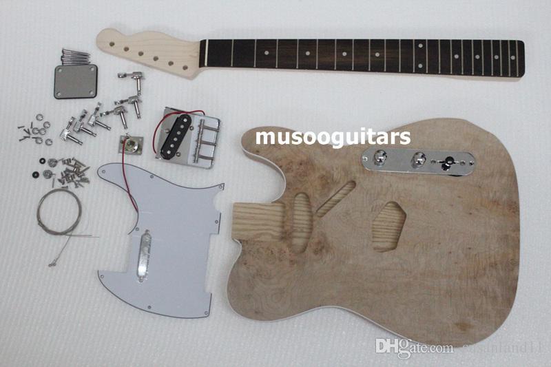 Großhandel Projekt Elektrischer Gitarrenbaukit Diy Mit Allen Teilen ...